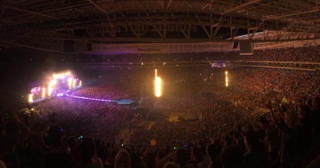 Show Coldplay São Paulo