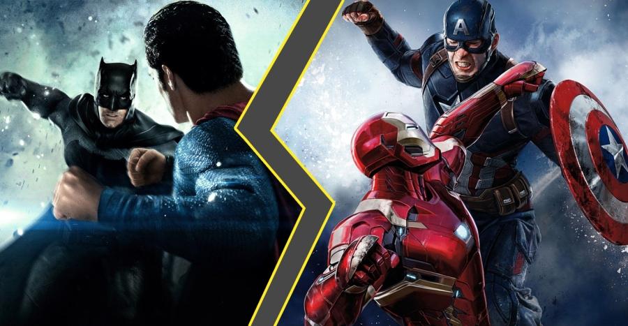 Guerra dos Mundos: Marvel X DC