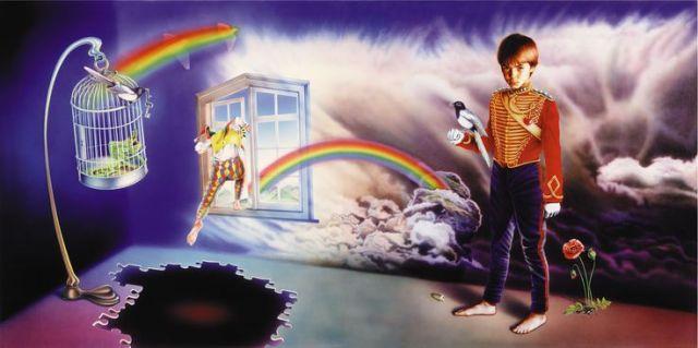 Capa do álbum Misplaced Childhood - Marillion