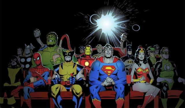 Marvel e DC - podemos gostar dos dois