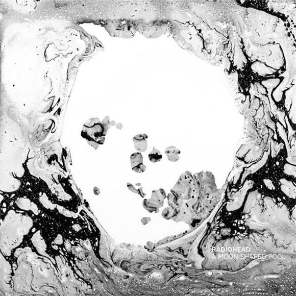 Arte do álbum A moon shaped pool da banda Radiohead