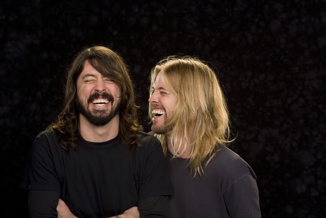 Dave Grohl e Taylor Hawkins