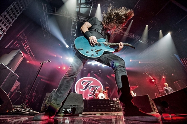 Foo Fighters - Dave Grohl - ao vivo