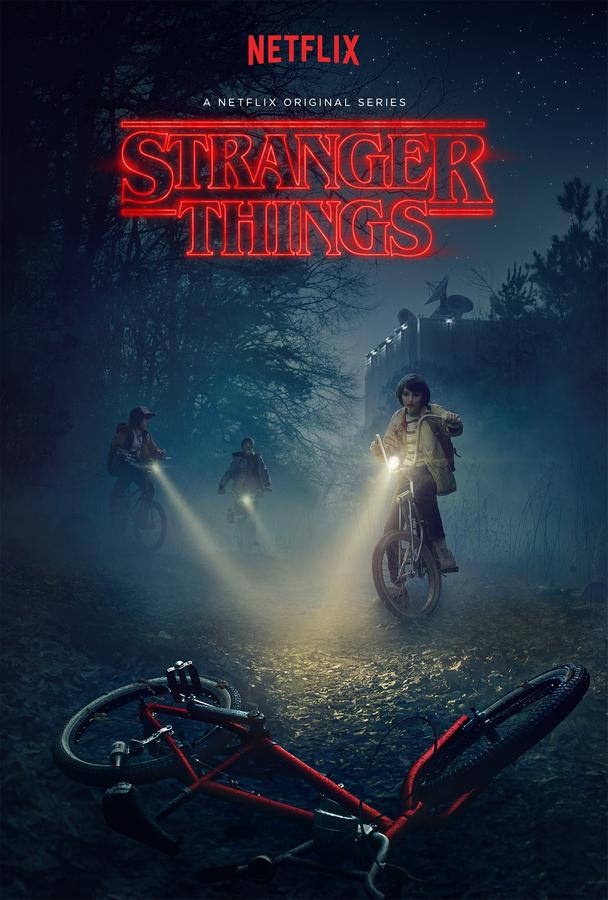 cartaz Stranger Things