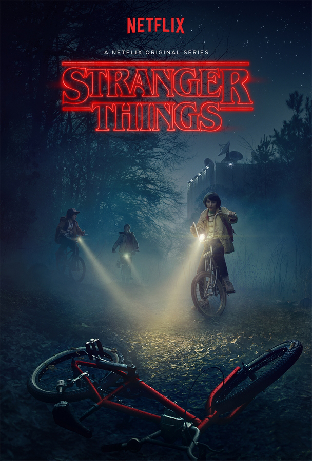 cartaz Stranger Things