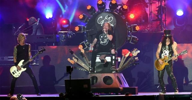 Guns N Roses Coachella Festival 2016