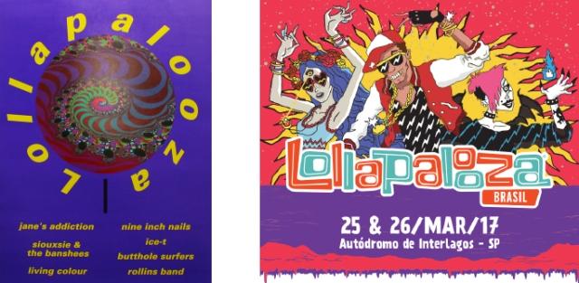 Cartazes Lollapalooza