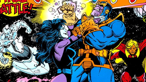 Nebulosa e Thanos
