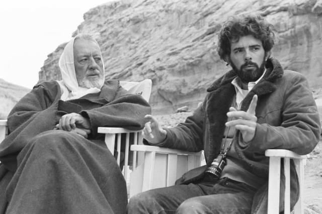 Obi-Wan e George Lucas