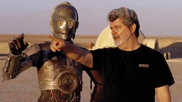 George Lucas Diretor Star Wars Episódio 1