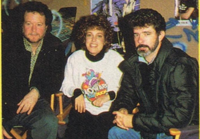 Gloria Katz, Willard Huyck e George Lucas
