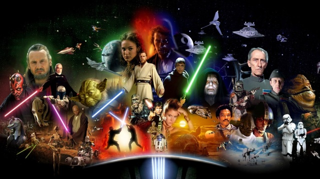 Saga Star Wars 1 - 6