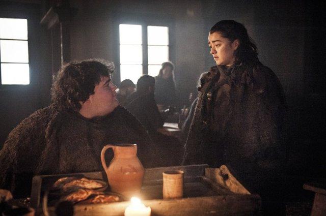 Arya e Torta Quente