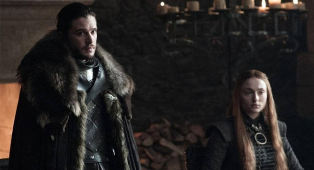 Jon Snow e Sansa - Game of Thrones
