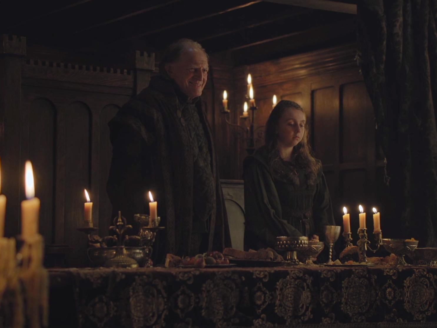 Walder Frey - Arya Stark
