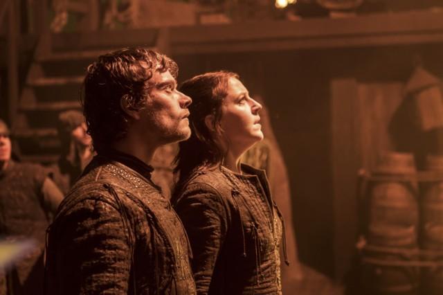 Yara e Theon Greyjoy