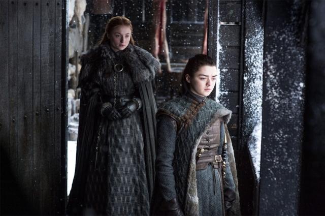 Arya e Sansa - Game of Thrones