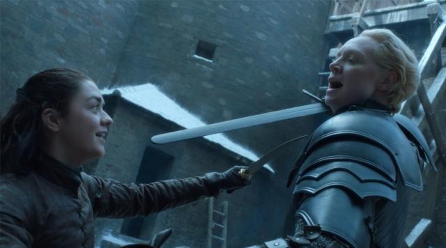 Arya e Brienne - Game of Thrones S07E04