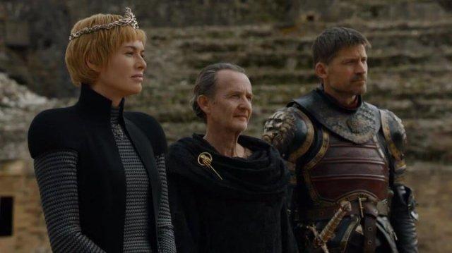 Cersei e Jaime em fosso dos dragões - Game of thrones S07E07