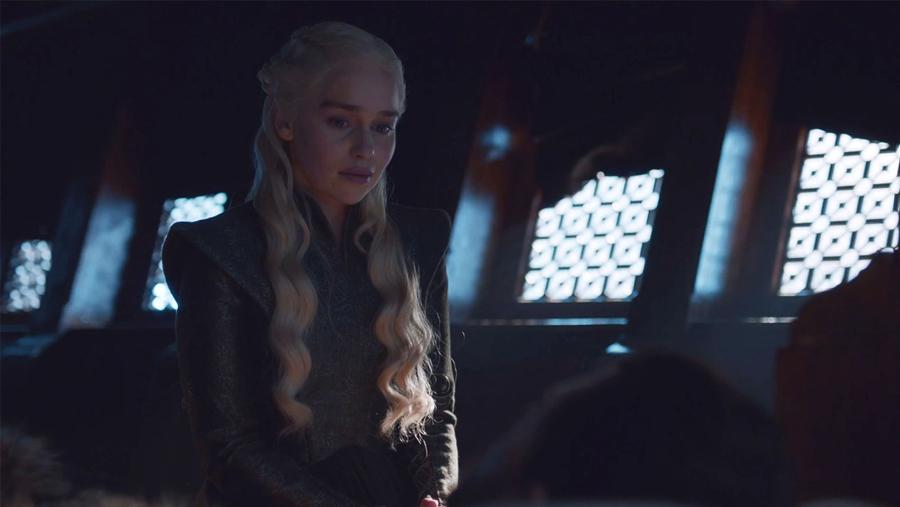 Deanerys e Jon Snow - Game of Thrones S07E06