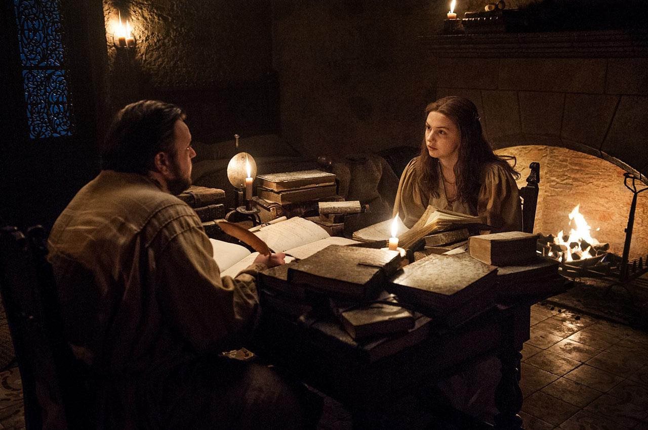 Sam e Gilly - Game of Thrones S07e05