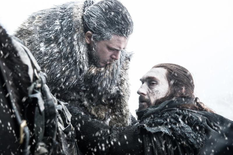 Jon e Benjen - Game of Thrones S07E06
