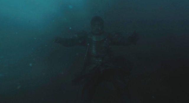 Jaime ainda na água - Game of Thrones S07 E04