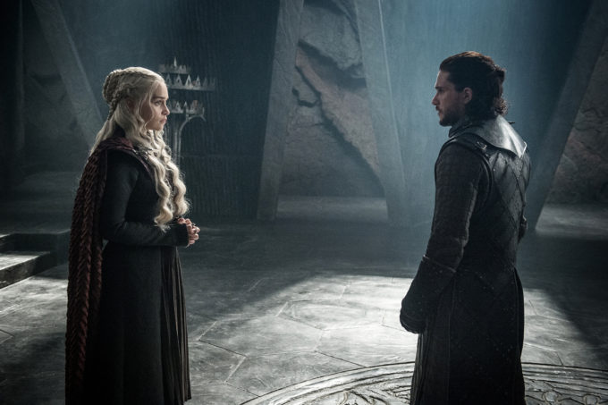 Jon e Daenerys - The Queen Justice