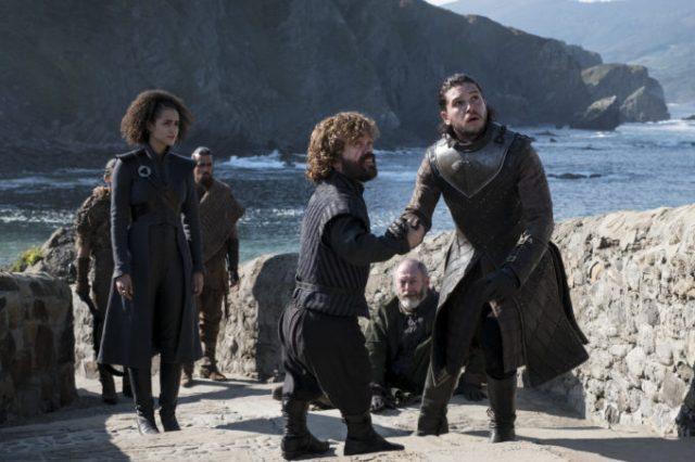 Jon e Davos em Pedra do dragão - The Queen Justice