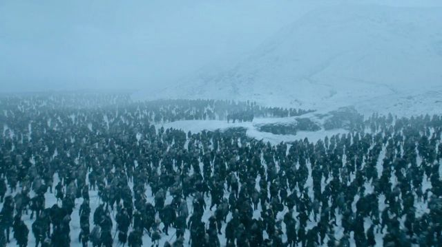 White Walkers - game of thrones S07E05