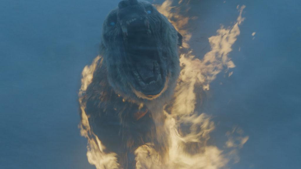 Urso Zumbi - Game of Thrones S07E06