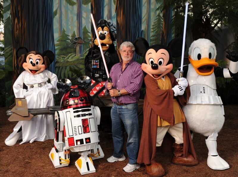 George Lucas e Disney