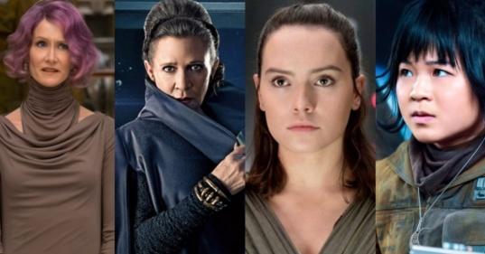 Mulheres Star Wars