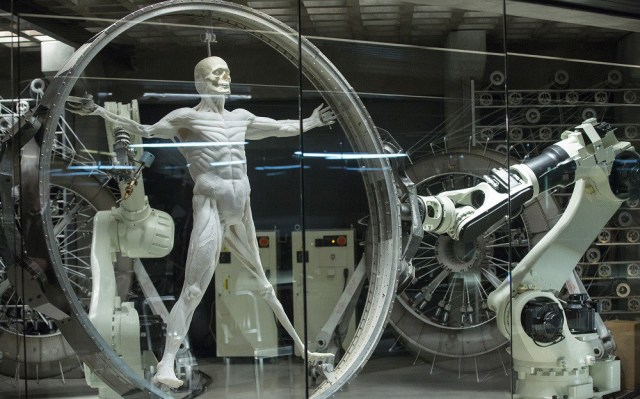 Futurismo Westworld