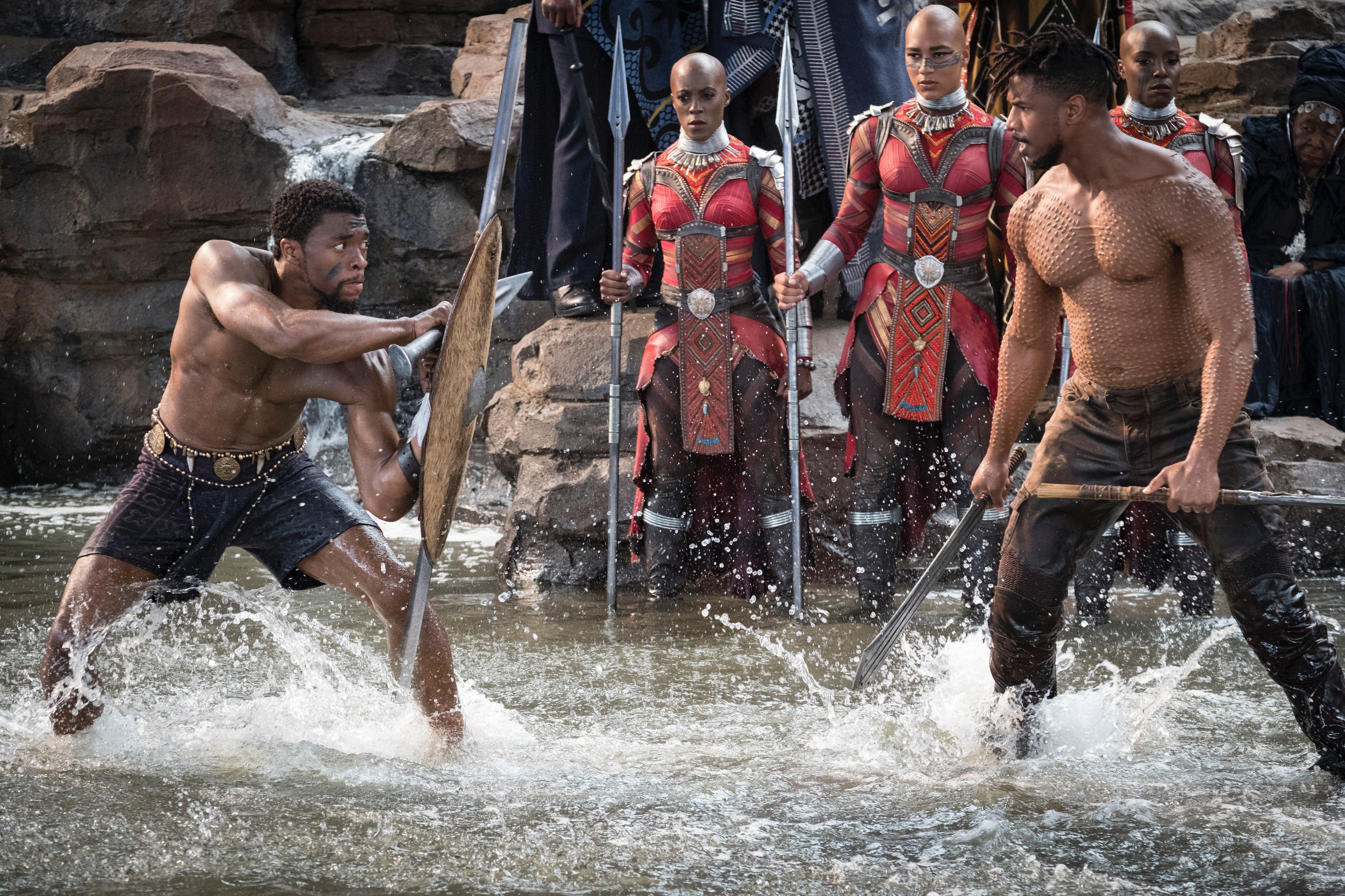 T'Challa VS Erik Killmonger